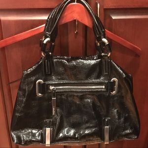 Calvin Klein patent leather bag
